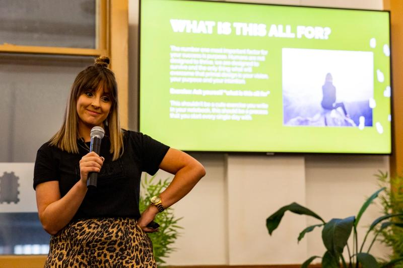 Personal Branding - Erin May Henry - Game Changer Company - Founder - She Mentors - Event