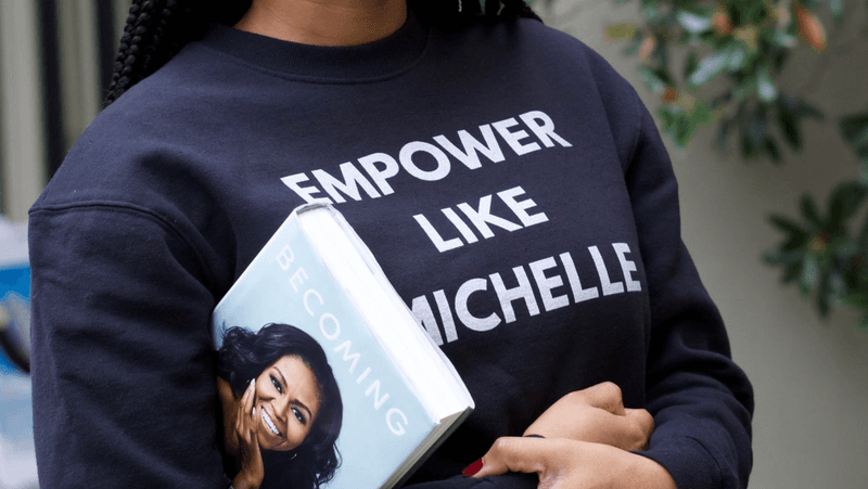 Book Club-Becoming-Michelle Obama-She Mentors-Image