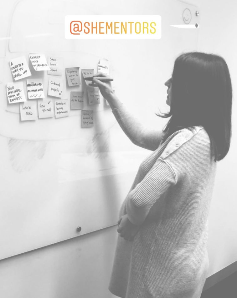 Ali Adey - UX Redesigning the She Mentors platform - Image - She Mentors