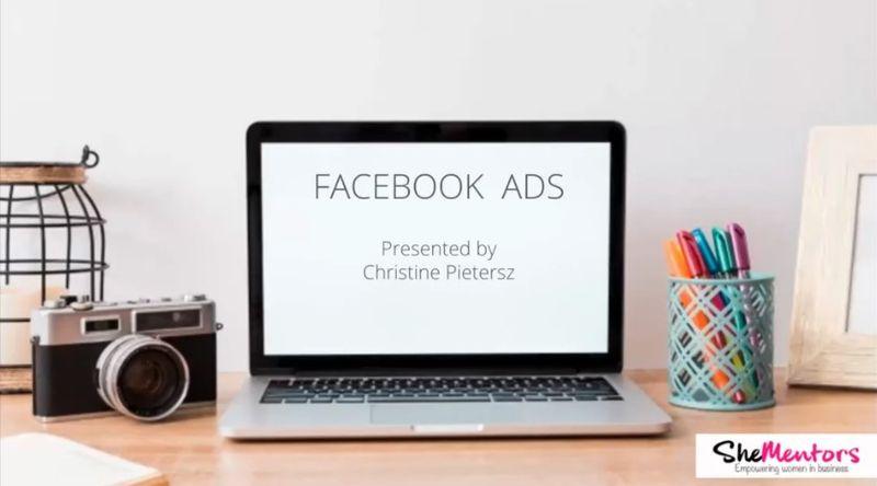 Group Mentor Hour - Facebook Ads - Social Media - She Mentors - Video Replay