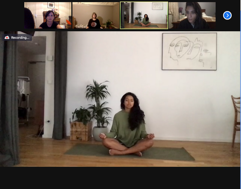 She Mentors - Video Replay - Mindfulness - Chocolate Meditation - Chantelle Gallow - Michelle Large