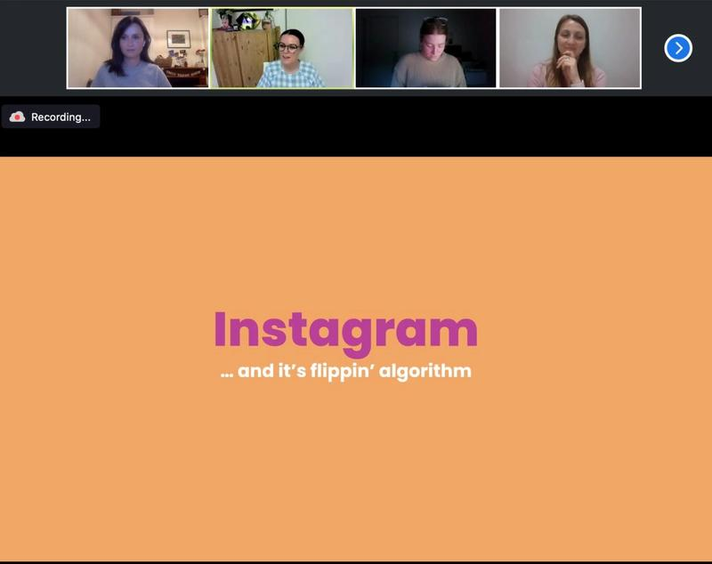 Masterclass - Instagram - Cherie Clonan - The Digital Picnic - Social Media - She Mentors - Video Replay