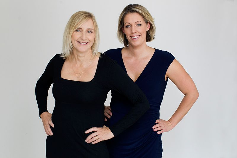 Kate Boorer - Kate Pearman - Hosts of 'How to connect with your core confidence' - Image - She Mentors