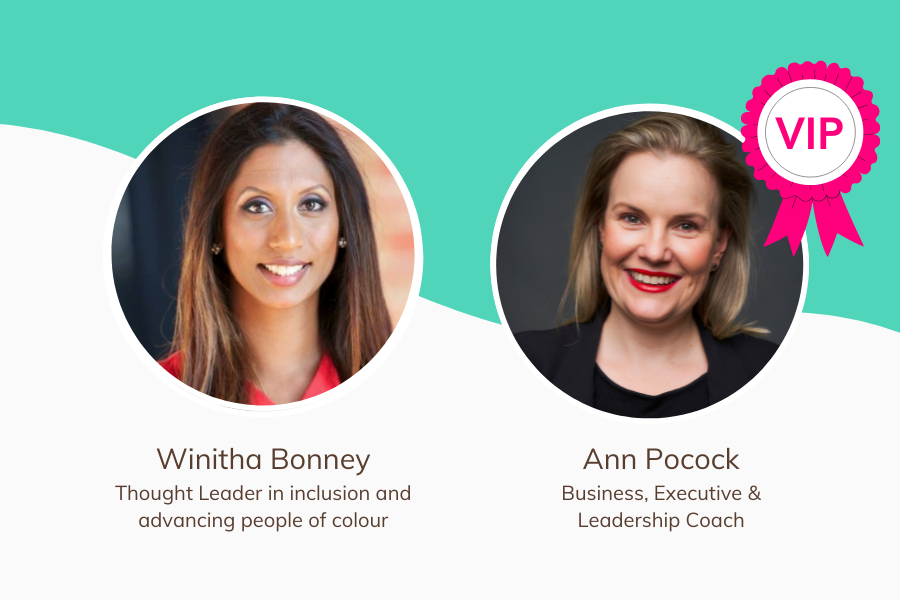 How to boost visibility at work - Leadership Huddle- Image - Event - She Mentors