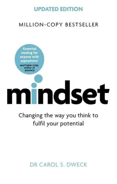 Mindset - Carol Dweck - book cover - image - She Mentors