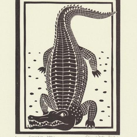 Gini Wade, Crocodile Mono , 2020