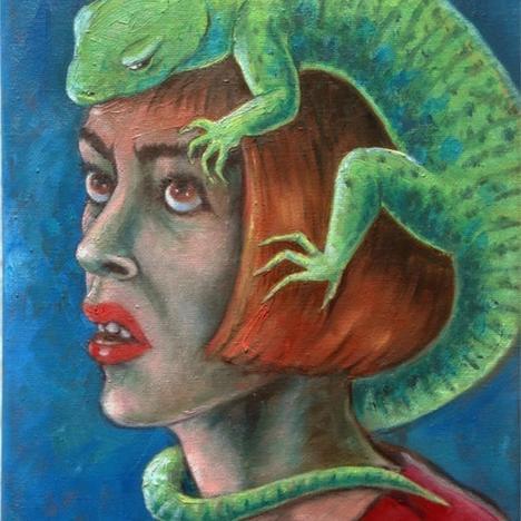 Gini Wade, Lizard Brain, 2020