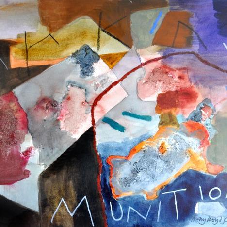 Mary Lloyd Jones, Munitions, 2020