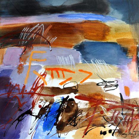 Mary Lloyd Jones , Cors Fochno/Peat Bog, Borth, 2020