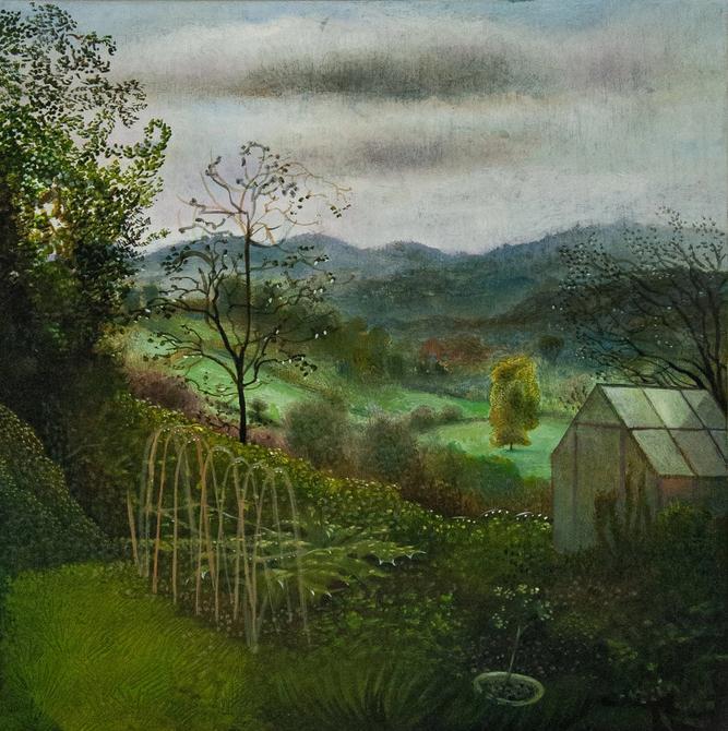 Sara Philpott, Judith's garden, 2020
