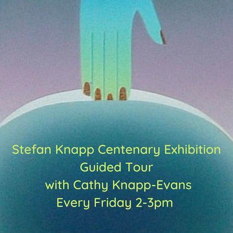 Stefan Knapp Centenary Exhibition Tour with Cathy Knapp-Evans