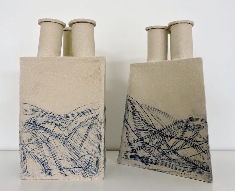 Alison Finniestion, Geometric Vessel, 2020