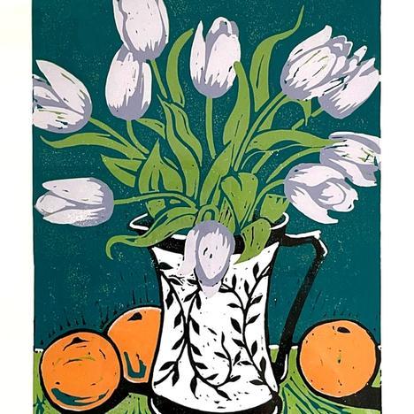 Diane Rose, Tulips , null