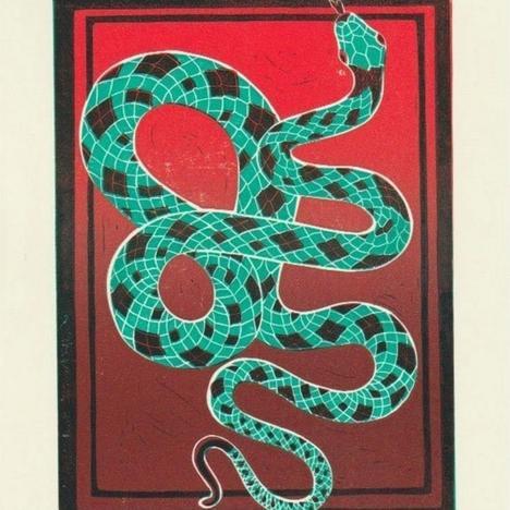 Gini Wade, Snake, 2020