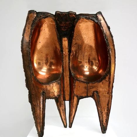Stefan Knapp , Copper Sculpture , 1956