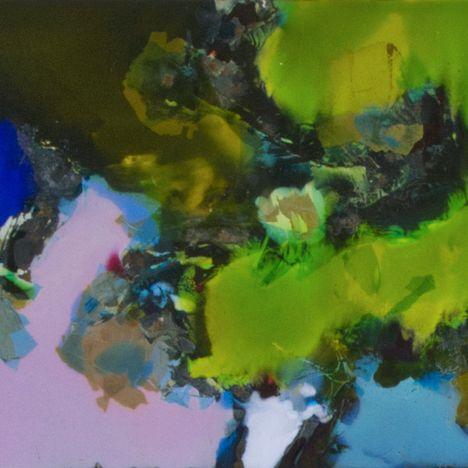 Stefan Knapp, Section of Abstract Enamel, 1960