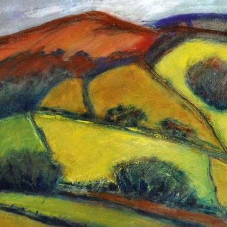 Lindsey Davies , Spring at Dolifor , null