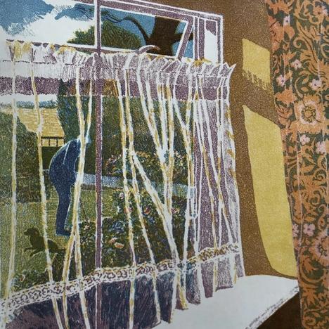 Angela Thorpe, Auntie Chris's Garden, 1986