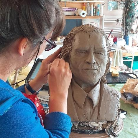 Portraits in Clay