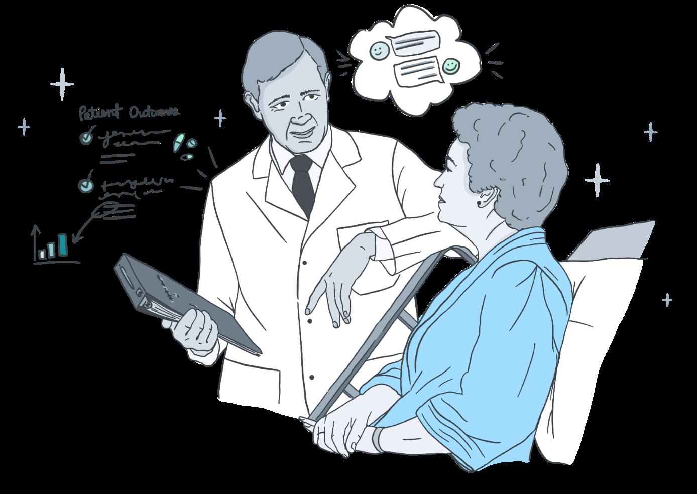 Conversation with Patient