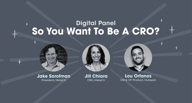 So You Want to Be a CRO?