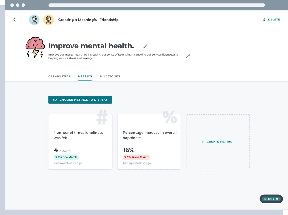Improve mental health