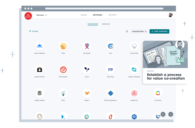 Company Grid Screen