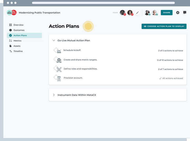Mutual Action Plans
