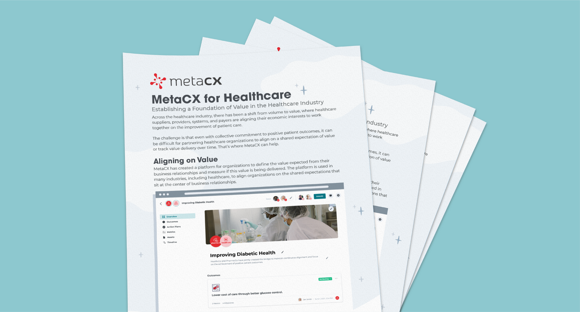MetaCX for Healthcare