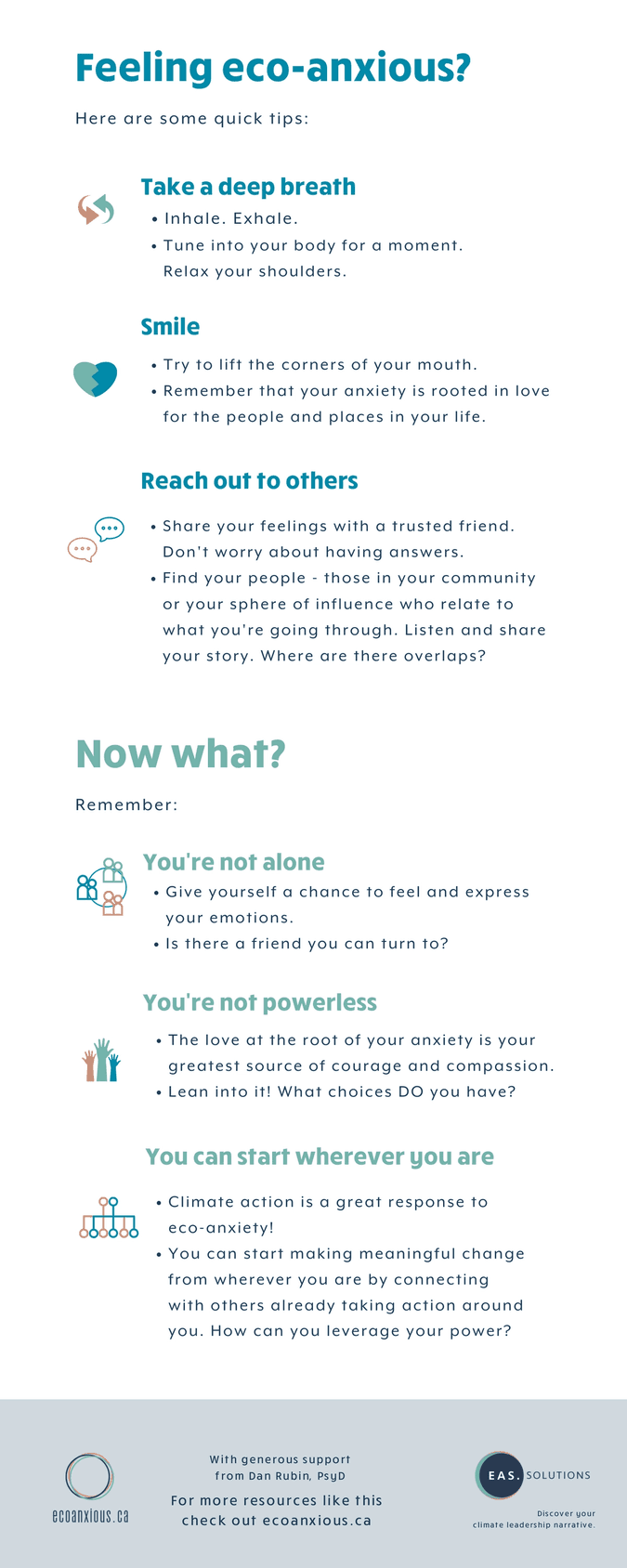 Eco-anxiety infographic