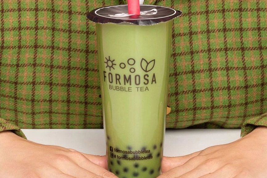 Formosa Bubble Tea Ad Photo