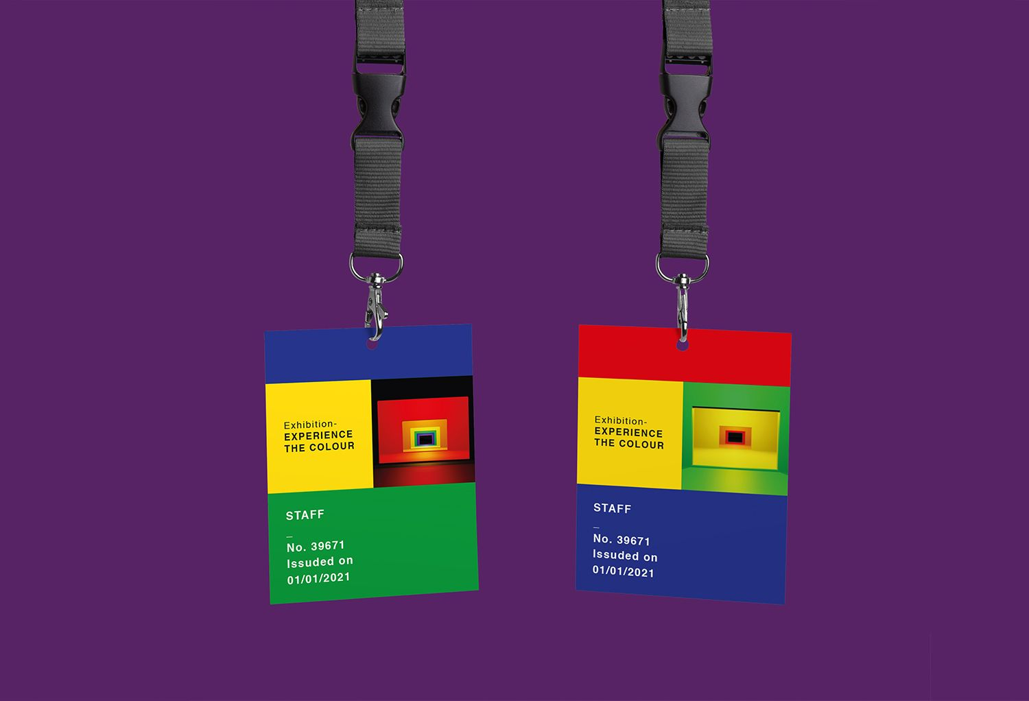 Experience The Colour Exhibition Staff Tickets