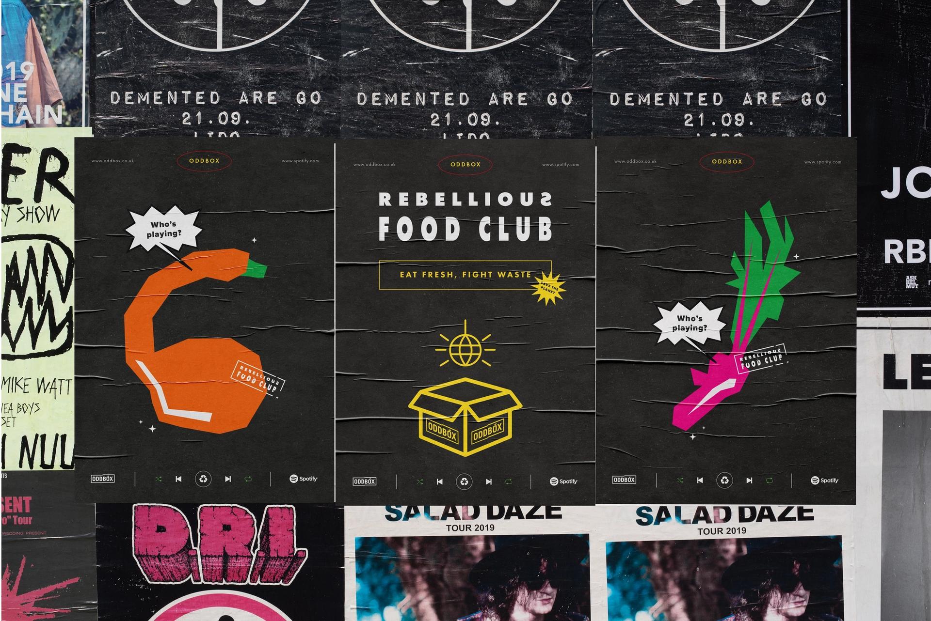 Oddbox Posters