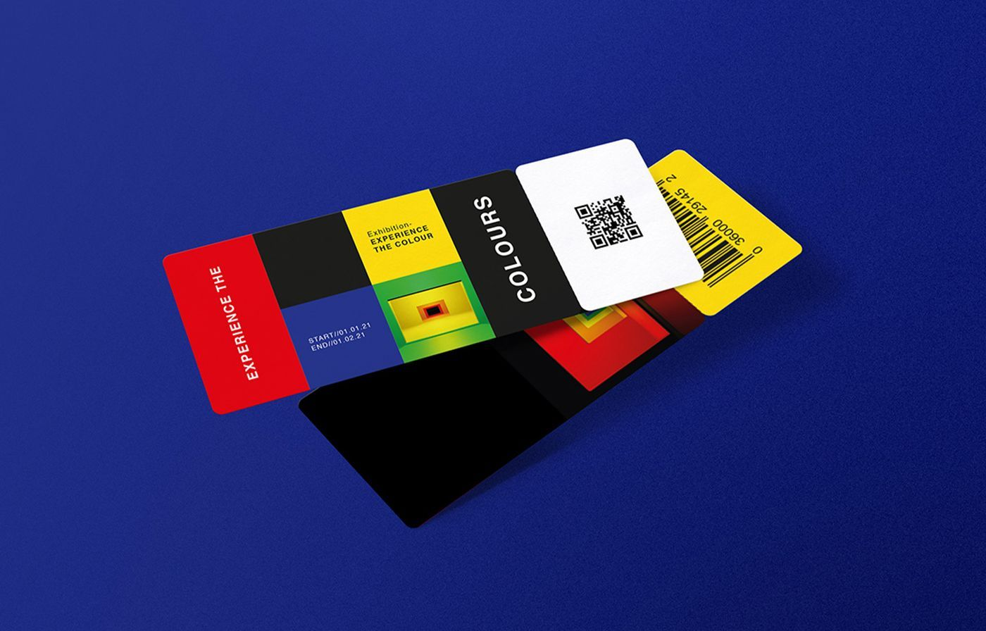 Experience The Colour Exhibition Tickets