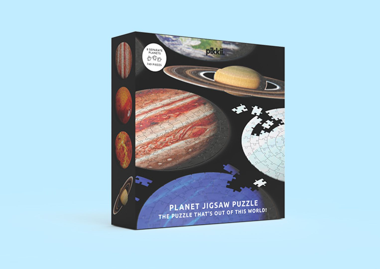 Planet Jigsaw Puzzle Packaging