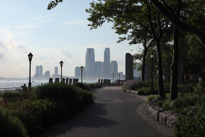 New Jersey seen from Battery Park, Manhattann
