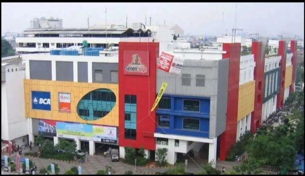 Disewakan Kios di Pusat Grosir Senen Jakarta Pusat