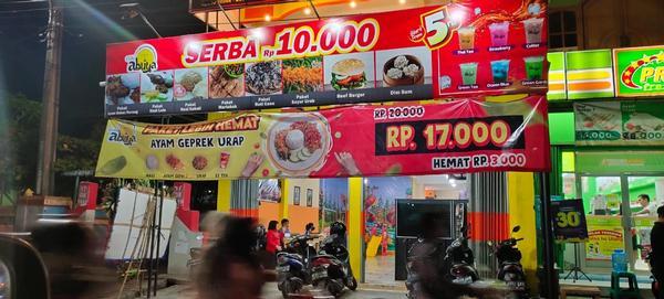 Lantai atas ruko di Aren Jaya Bekasi Timur