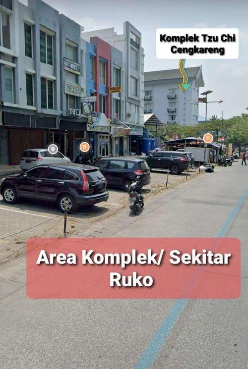 Disewakan ruko hook lt. 3 & 4 di Cengkareng Jakarta