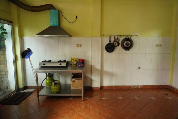 Dapur gudang atau cloud kitchen di Pancoran Jakarta Selatan