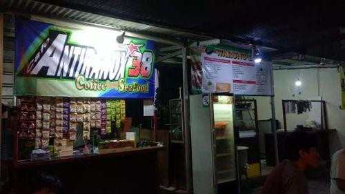 Lapak usaha kuliner bulanan di Pondok Ranji Tangerang Selatan