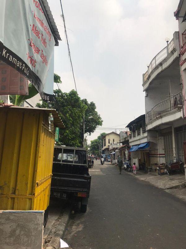 Kios ruko tempat usaha di Johar Baru Jakarta Pusat