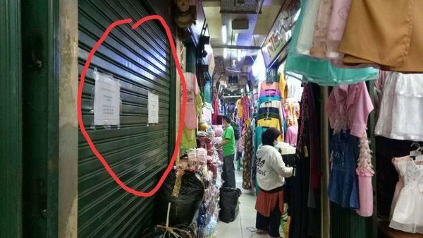 Kios murah disewakan di Pasar Cipulir Jakarta Selatan