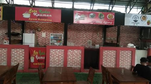 Kios lapak kuliner murah di Lenteng Agung Jakarta Selatan