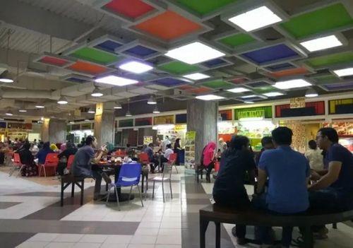 Kios foodcourt Thamrin City Jakarta Pusat