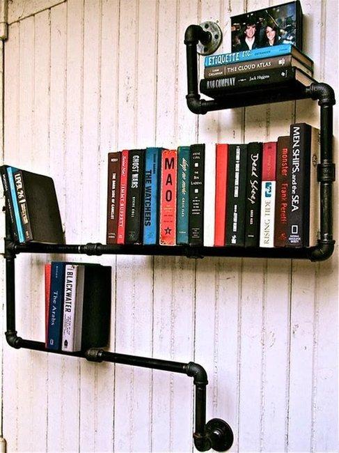 Borítókép 10+5 szuper könyvespolc ötlet nappaliba!