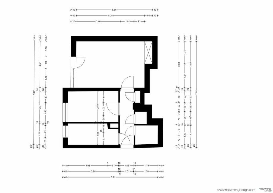 Borítókép Így alakíts ki élhető tereket 44 m2-en