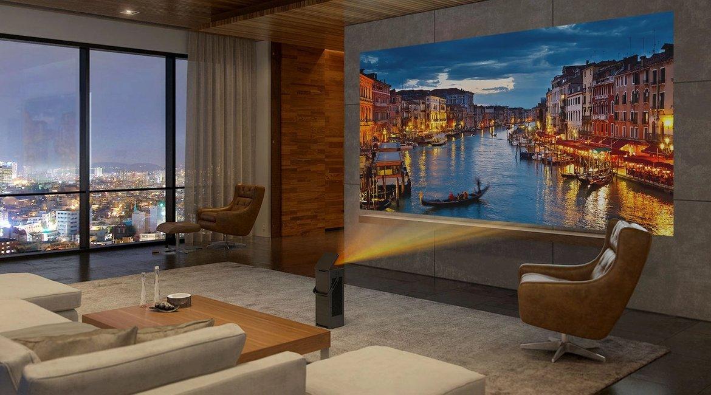 Borítókép Nézd meg az LG 4K házimozi projektorát a S/ALON-on!