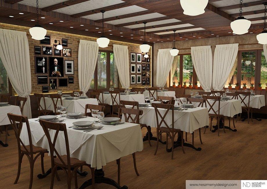 Borítókép Tradicionális olasz étterem vidéken