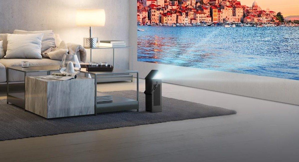 Borítókép Itt az LG legújabb dobása, a 4K házimozi projektor!